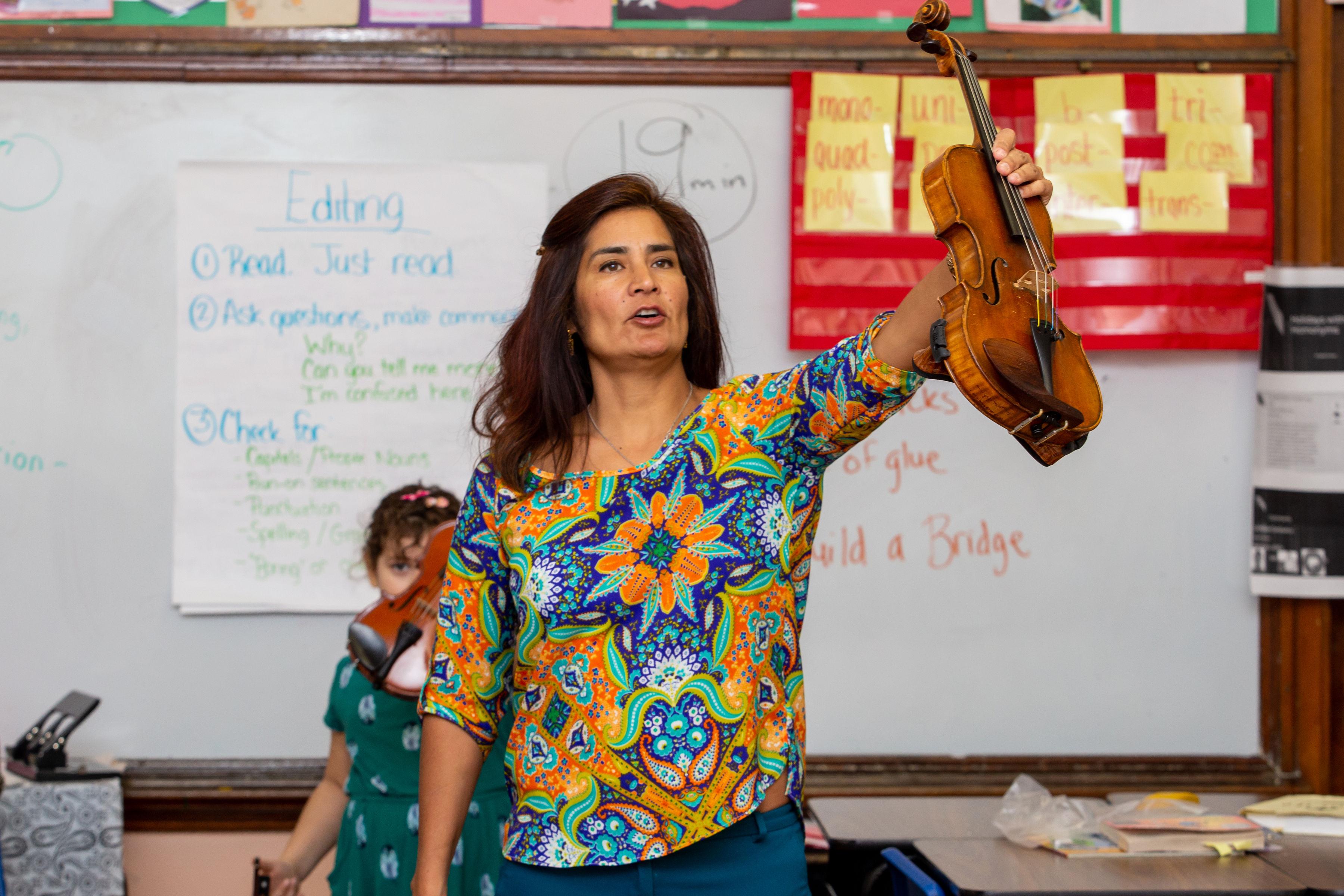 Violin Suzuki Program Pre-K, JK, K